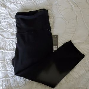 NWT Black Mesh Leggings
